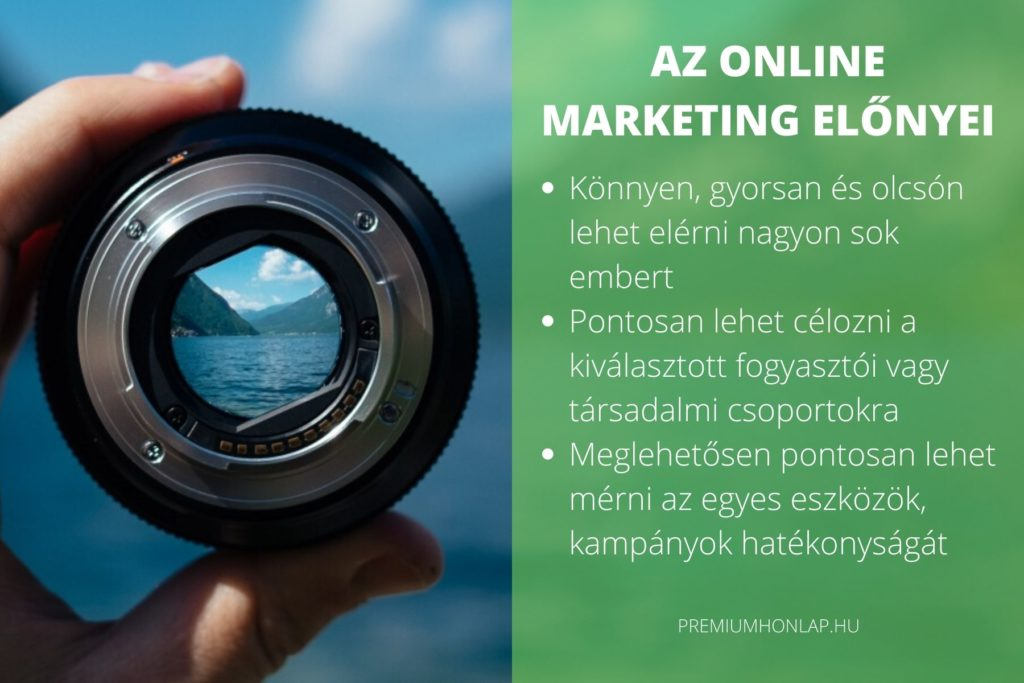 Az online marketing előnyei